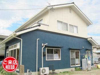 和風モルタル壁住宅を洋風住宅風に!印象をガラリと変える塗り替えリフォーム!