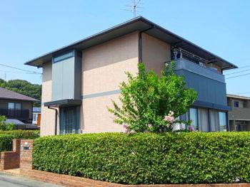 リフォームと同時に!色あせた屋根外壁を落ち着いた色に塗り替えリフォーム!