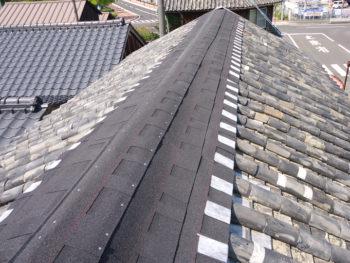 日本瓦屋根修復 防水処理&地震対策でずっと安心な屋根に!