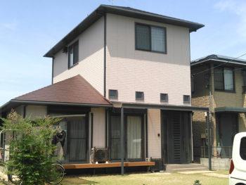築40年のお家も外壁塗装で美しく!超低汚染リファインで美観長持ち塗装リフォーム!