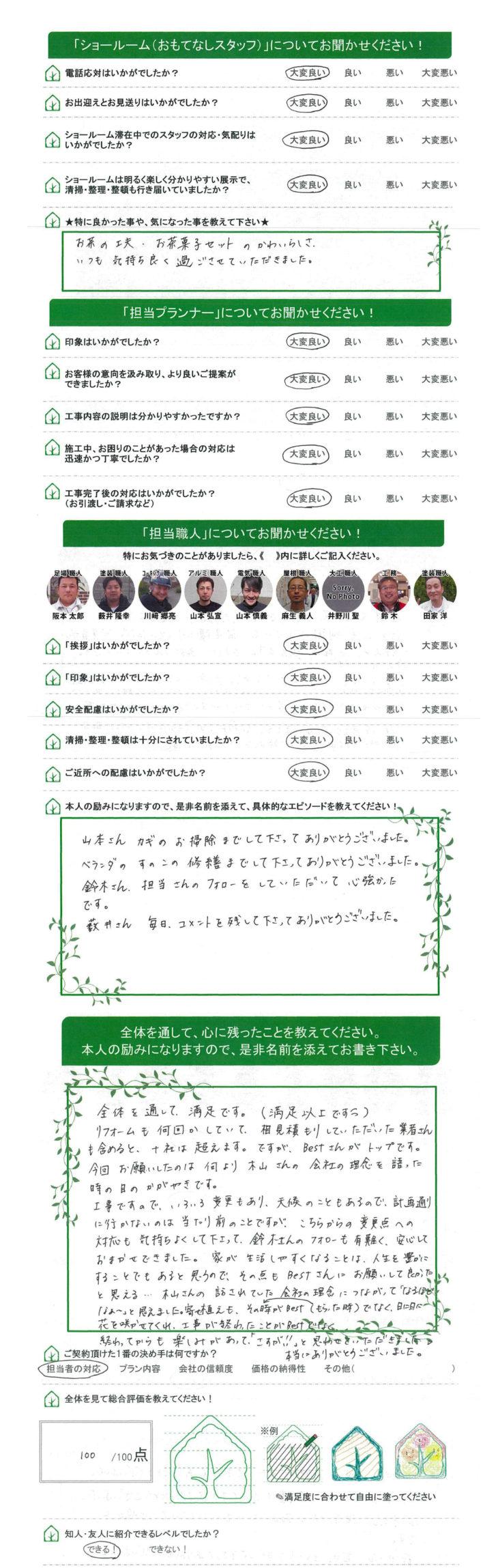 今回お願いしたのは、何より木山さんの会社の理念を語った時の目のかがやきです。